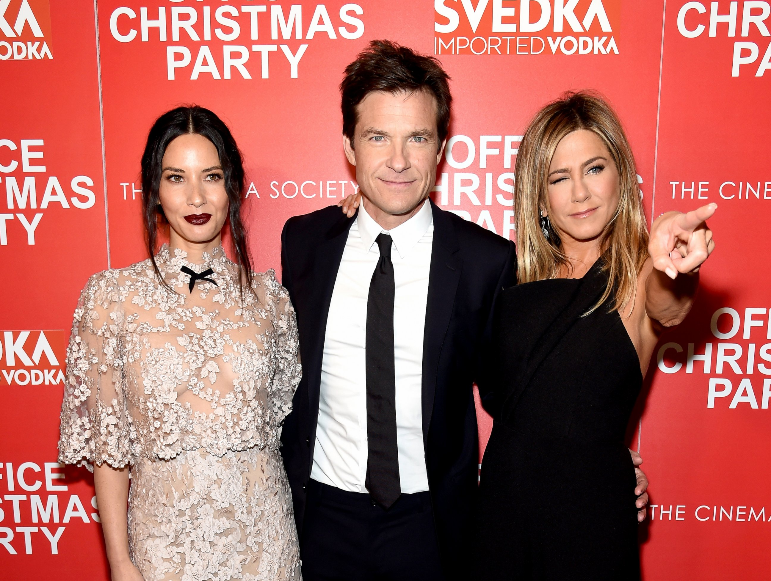 Olivia Munn, Jason Bateman & Jennifer Aniston - ABC News