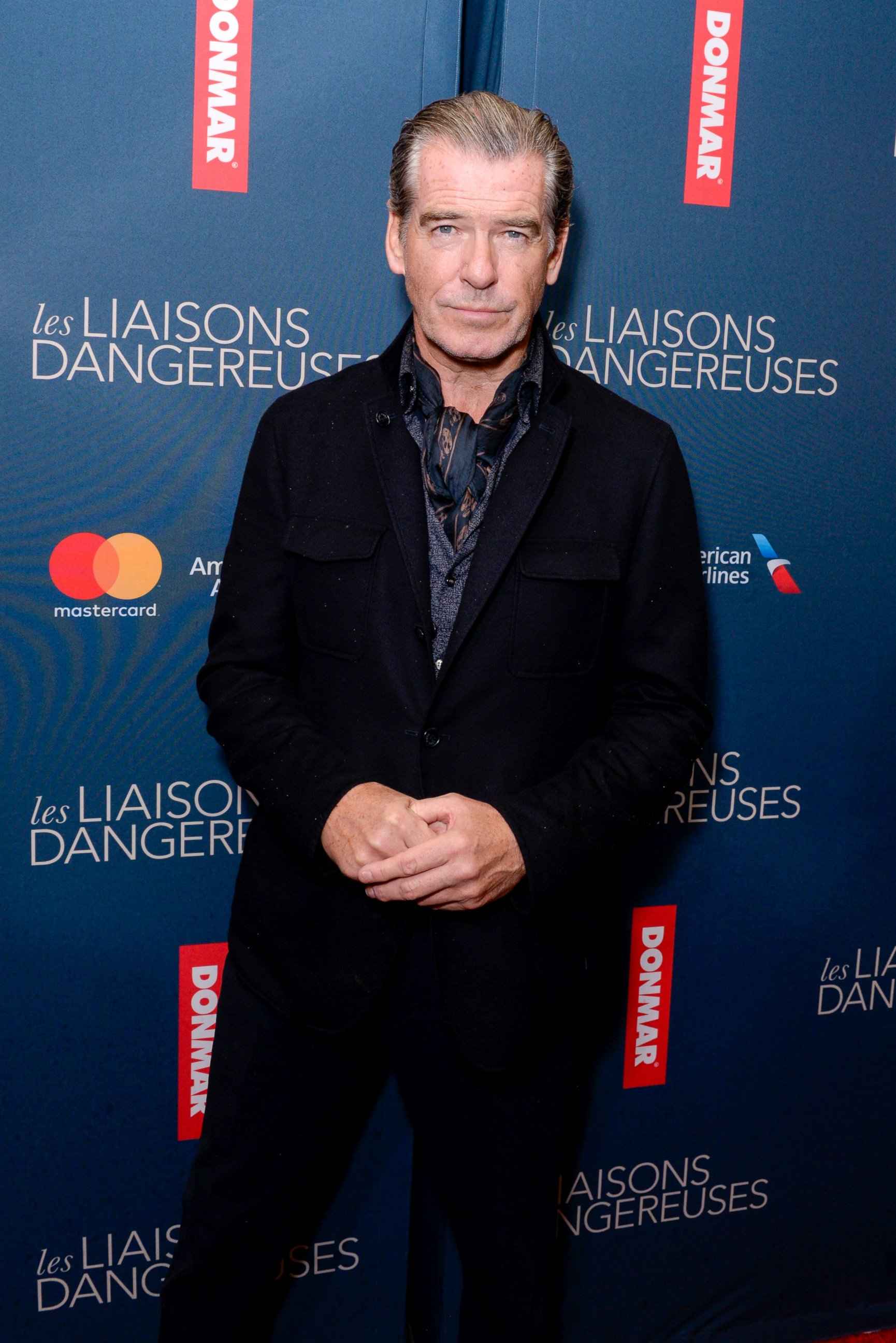 Pierce Brosnan Attends A Play