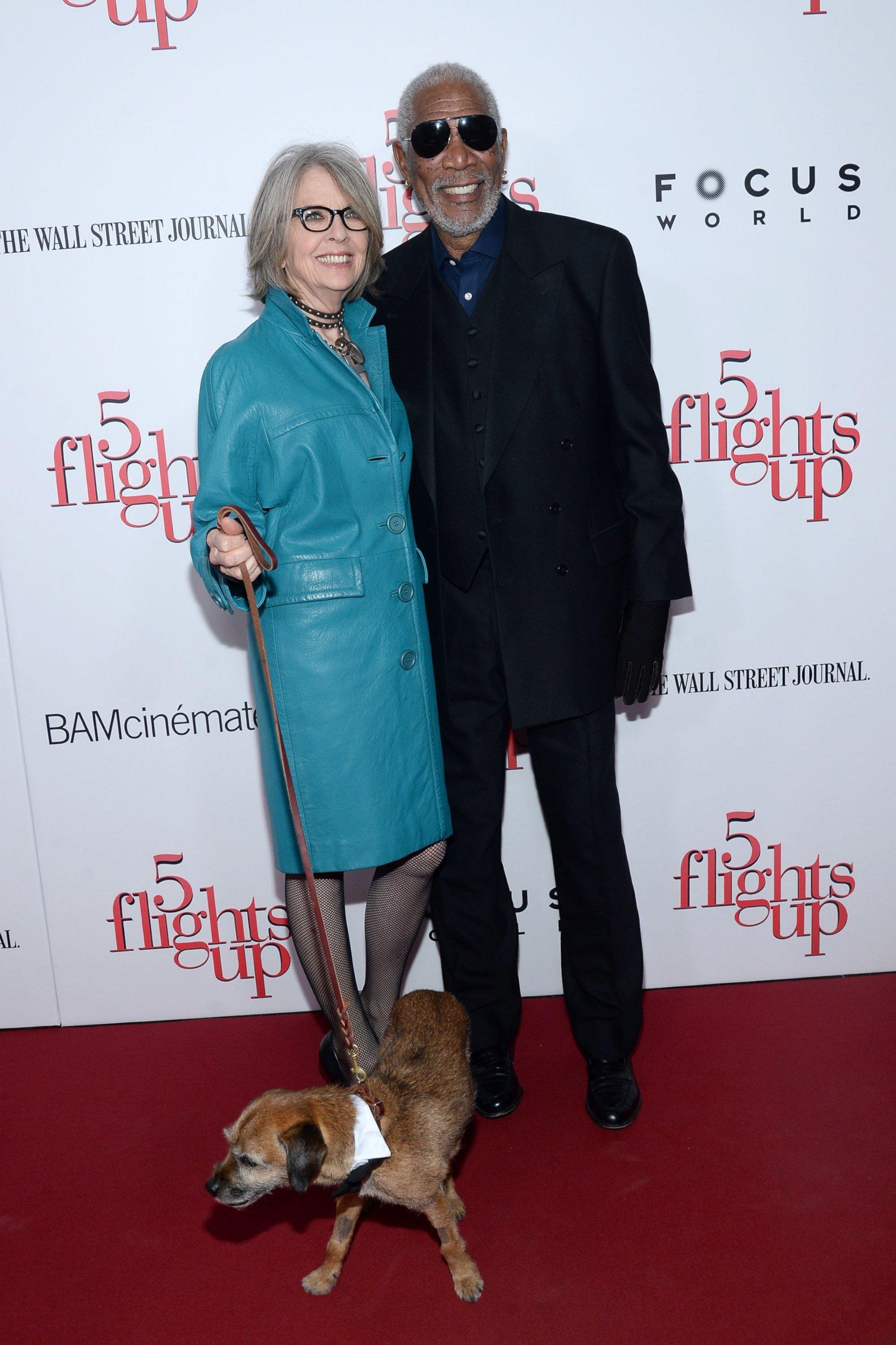 News Diane Keaton Diane Keaton And Morgan