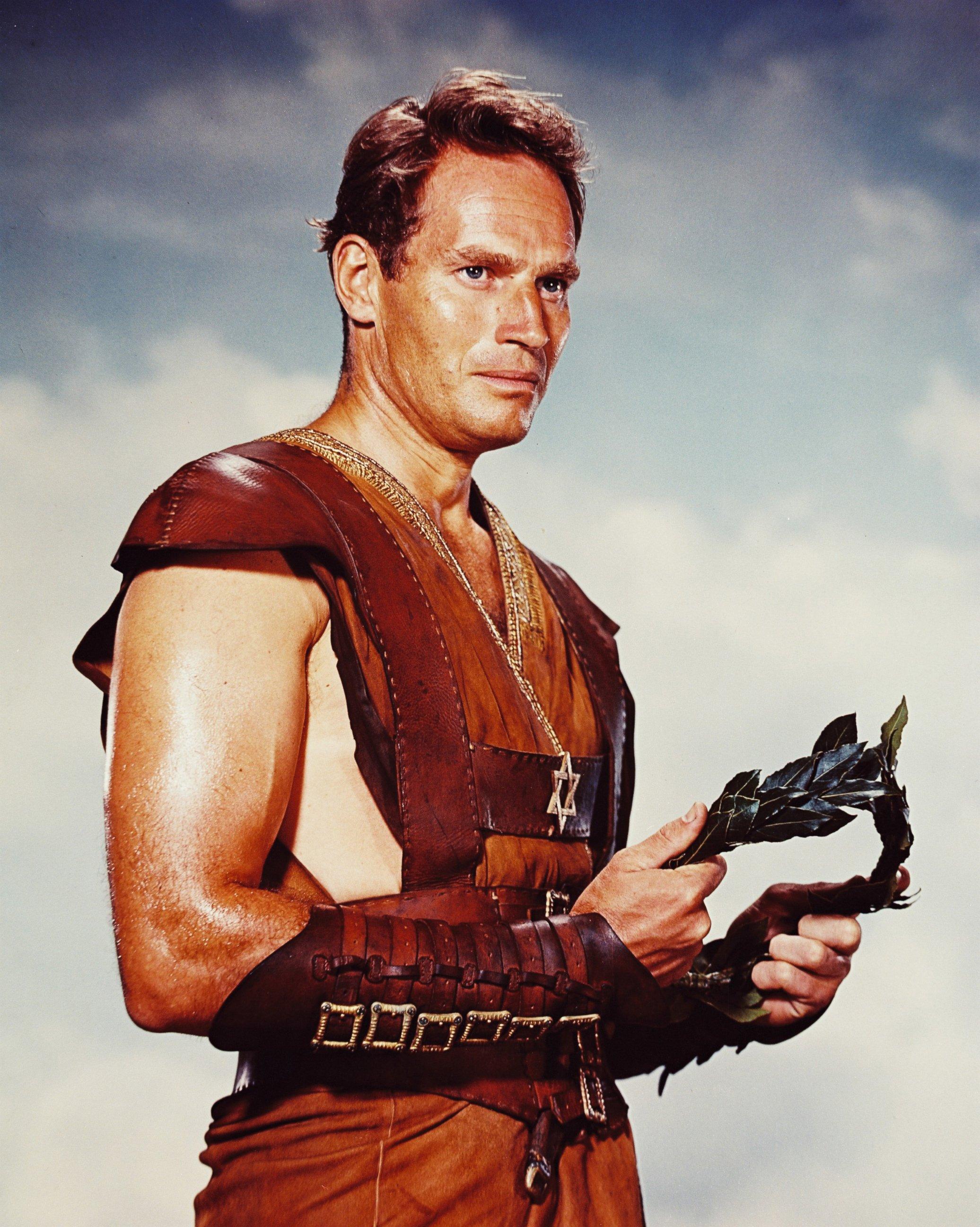 Image result for gladiator charlton heston