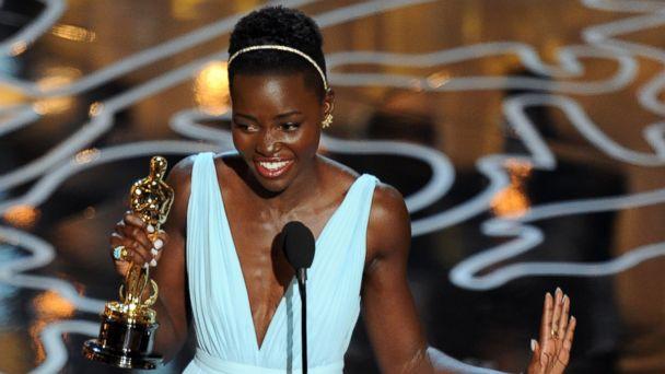 GTY lupita nyongo 1 kab 140303 16x9 608 Oscar Winner Lupita Nyongo Is the Pride of Africa