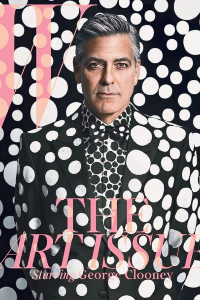HT clooney magazine tk 131202 2x3 608 Why George Clooney Is Still Single