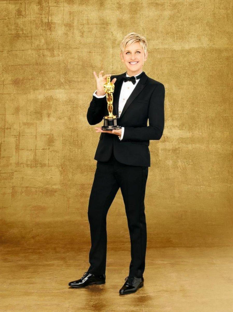 HT ellen oscars 2014 tk 140219 mn Ellen DeGeneres on Delicate Balance of Hosting Academy Awards