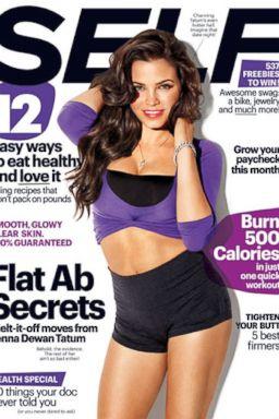 HT jenna dewan self tk 131016 2x3 384 How Jenna Dewan Tatum Lost 33 Pounds 7 Weeks After Baby