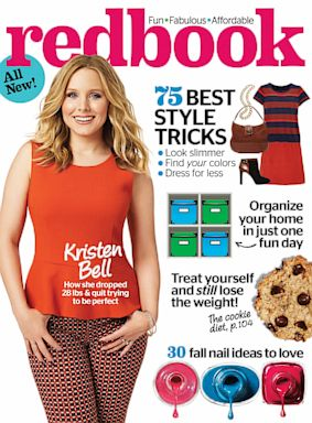 HT kristen bell redbook nt 130730 11x15 384 Kristen Bell: My Self Worth Doesnt Come From My Dress Size