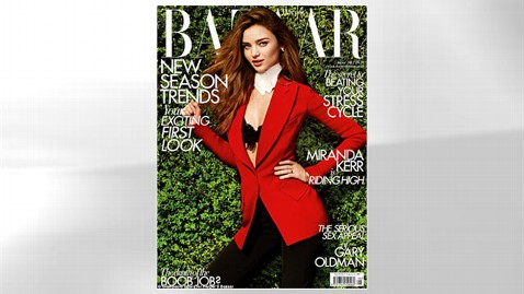 HT miranda kerr harpers bazaar dm 120709 wblog Miranda Kerrs Anti Epidural Comments Incite Backlash