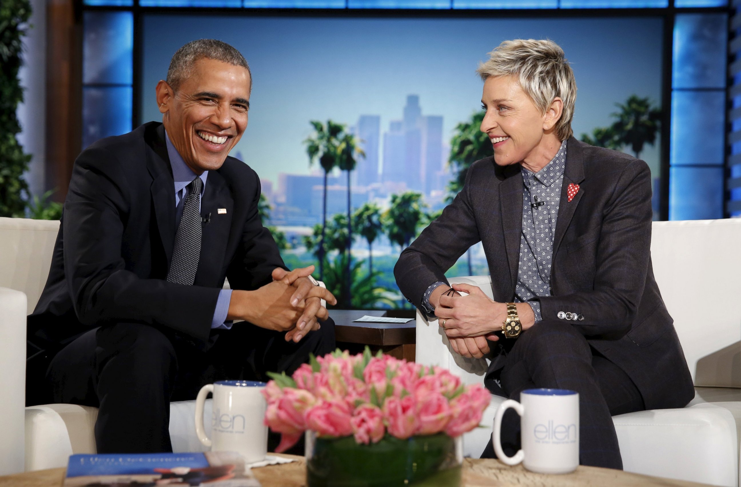 The ellen degeneres show videos at abc news video archive at - Ellen show videos ...