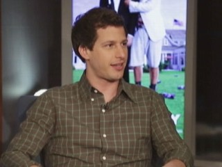 Andy Samberg on teaming with hero Adam Sandler