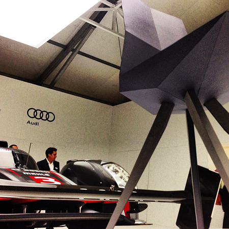 abc audi nt 121205 Art Basel Week: From Dog Furniture to Audi Chairs
