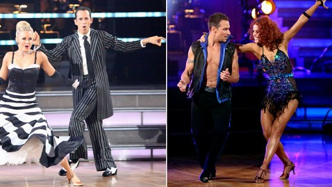 abc dtws helio castroneves drew lachey ll 121009 wblog Dancing With the Stars: All Stars: Castroneves, Lachey Voted Off in Week 3