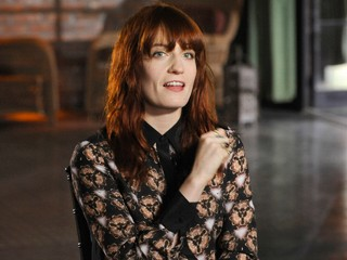 PHOTO: Florence Welch, lead singer of the English indie pop band Florence and the Machine.