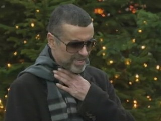 VIDEO: George Michael spoke about his illness outside his north London home.