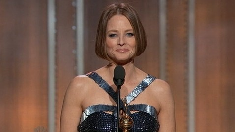 abc jodie foster tk 130113 wblog Jodie Foster Wows Golden Globes With Speech