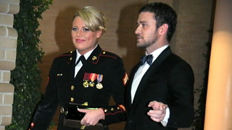 abc justin timberlake marine corp ball 111114 wblog Justin Timberlake Goes to Ball With Marine Who Posted YouTube Invite