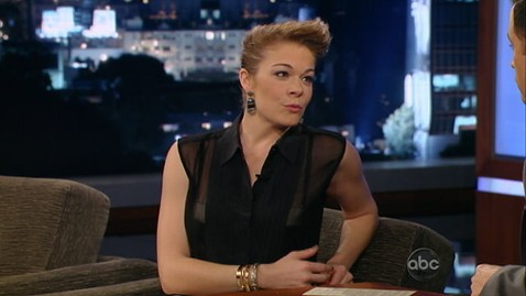 abc leann rimes jimmy kimmel lpl 130123 wblog LeAnn Rimes Says Screw You to Brandi Glanville
