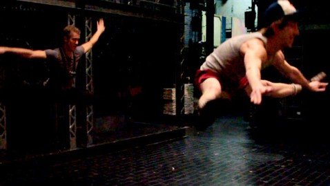 abc newsies jump jef 120501 wblog Newsies, a Musical of a New Protest Generation (PHOTOS + VIDEO)