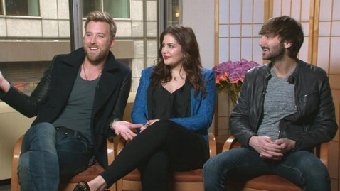 abc newsmakers lady antebellum tk 130220 wblog Lady Antebellum On New Record, Foundation, Ping Pong