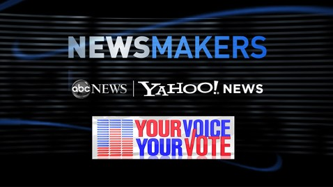 abc newsmakers yahoo vote ll 111104 wblog ABC News and Yahoo! News Co Host Newsmakers Live Panel During Democratic National Convention