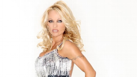 abc pamela anderson thg 120727 wblog Pamela Anderson Voted Off Dancing With the Stars: All Stars in Week 1