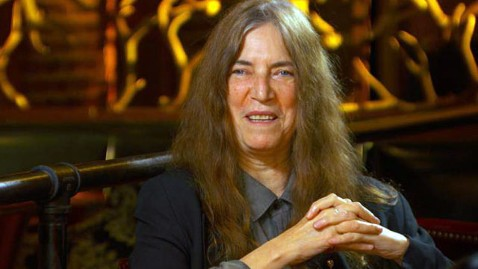 abc patti smith jef 120607 wblog Patti Smith: Amy Winehouse Tribute Song Wasnt Planned