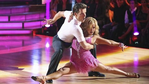 abc sabrina bryan amstel jp 121001 wblog Dancing With the Stars: All Stars Week 2: Louis Van Amstel, Sabrina Bryan Get Ready to Quickstep