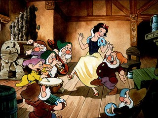 "PHOTO: Walt Disney's 1937 film, ""Snow White And The Seven Dwarfs,"" was the first full-length animated feature from Disney Studios. It was the highest grossing film ever for one year before ""Gone With ..."