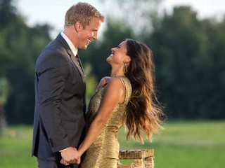 PHOTO: Sean Lowe chose Catherine Giudici to be his bride on the season finale of 'The Bachelor,' March 11, 2013.