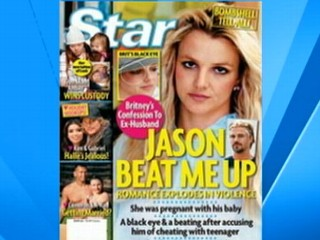 VIDEO: Britney Spears' rep denies report that Spears was hit by boyfriend Jason Trawick.