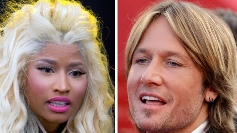 ap nicki minaj keith urban lt 120915 wblog American Idol: Nicki Minaj and Keith Urban to Join Randy Jackson and Mariah Carey on Judging Panel