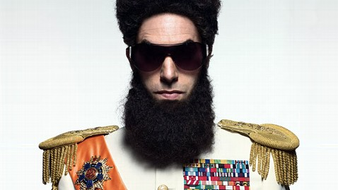 ap sacha baron cohen dictator jp 120224 wblog Sacha Baron Cohen Dressed as The Dictator to Appear on the Red Carpet