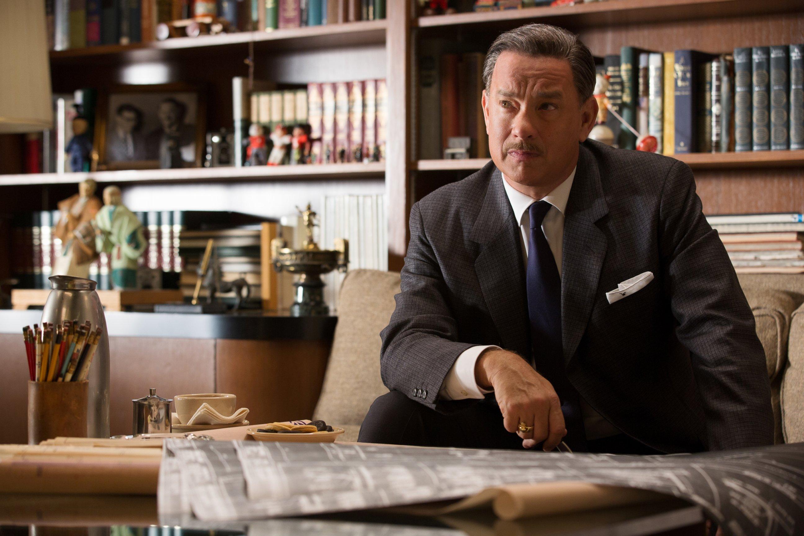 ap saving mr banks tom hanks ll 131210 Mary Poppins Songwriter on What Mr. Banks Got Right