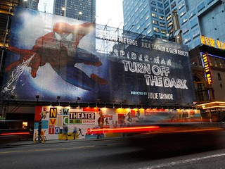 PHOTO: Spider-Man Turn Off the Dark banner