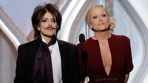 ap tina amy tk 130113 wblog Golden Globes 2013: Amy Poehler and Tina Feys Best Moments
