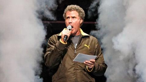 ap will ferrell announces dm 120209 wblog Will Ferrell Announces NBA Starting Lineups