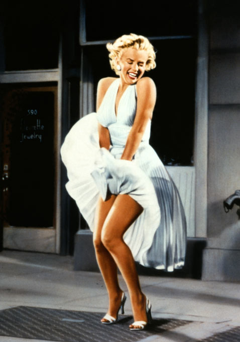 cb mm dress mr 120710 vblog Marilyn Monroe: 50 Years After Her Death