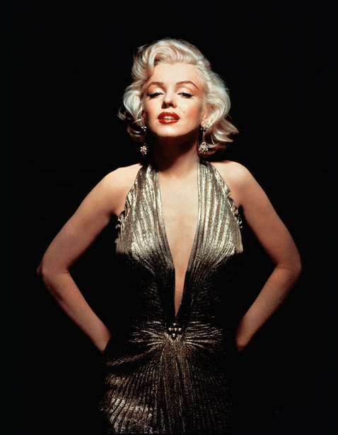 cb mm gold dress mr 120710 vblog Marilyn Monroe: 50 Years After Her Death