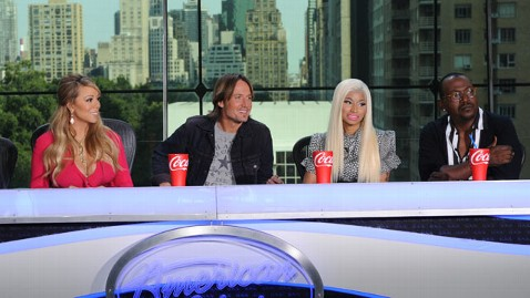 fox american idol judges thg 121004 wblog Idol Airs Nicki Minajs On Set Meltdown