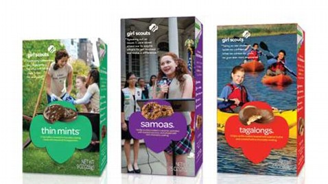 girl Scout cookie box redesign front thg 121001 wblog Girl Scout Cookie Boxes Get a Makeover