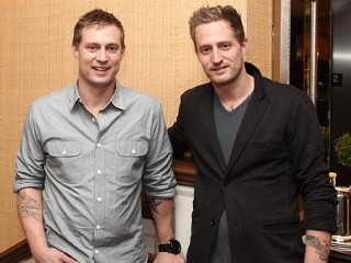 "PHOTO: Bryan Voltaggio and Michael Voltaggio attend the ""Voltaggios Take On: Thanksgiving"" book signing event at Williams-Sonoma, Oct. 24, 2011 in New York City."