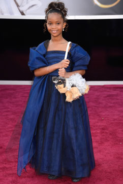gty Quvenzhane Wallis red carpet thg 130224 vblog Oscars 2013: Academy Awards Live Updates
