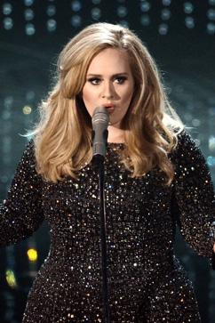 gty adele kb 130224 vblog Oscars 2013: Academy Awards Live Updates
