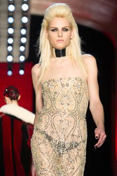 gty andrej pejic jean paul gaultier nt 130103 vblog Elle Puts Androgynous Model Andrej Pejic on Its Cover