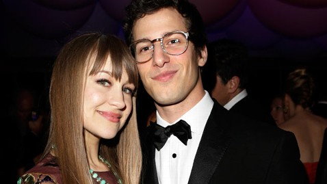 gty andy samberg joanna newsom dm 130226 wblog Andy Samberg, Joanna Newsom Engaged