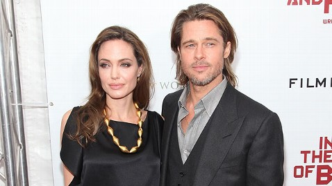 gty angelina jolie brad pitt jt 120113 wblog Brad and Angelina Added to List of Golden Globes Presenters