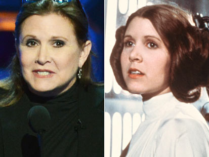 gty ap carrie fisher split kb 1303006 main Instant Index: Carrie Fisher to Reprise Role as Princess Leia