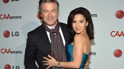 gty baldwin hilaria kb 130212 wblog Alec Baldwin and Wife Hilaria Expecting First Child Together