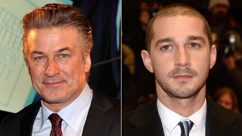 gty baldwin labeouf mi 130307 wblog Shia LaBeouf Calls Out Former Orphans Co Star Alec Baldwin