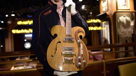 gty beatles guitar nt 130520 wblog Custom Lennon Guitar Sold at Auction for $408,000