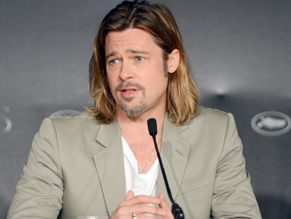 gty brad pitt cannes paid interview thg 120522 main In Cannes, a High Price to Pay for Celebrity Interviews