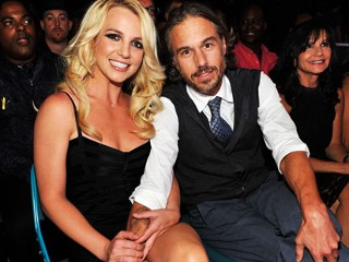 PHOTO: Singer Britney Spears and Jason Trawick pose during the 2011 Billboard Music Awards at the MGM Grand Garden Arena, Las Vegas, Nevada, May 22, 2011.